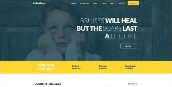 Nonprofit BuddyPress Theme