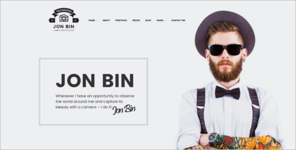 One Page Freelancer WordPress Theme