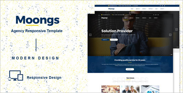 Onepage Multipurpose Company Template