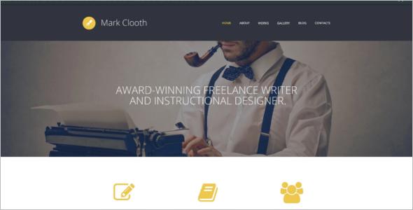 Online Freelancer WordPress Theme