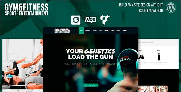 Online Gym WordPress Theme