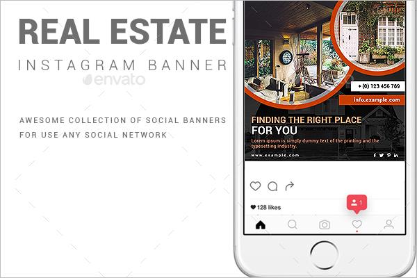 Online Real Estate Banner Template