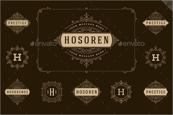 Ornament Hotel Label Design