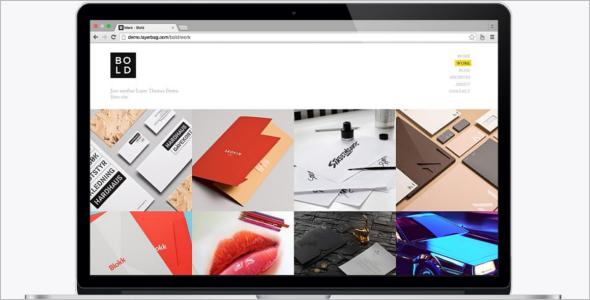 Parallax Portfolio WordPress Template