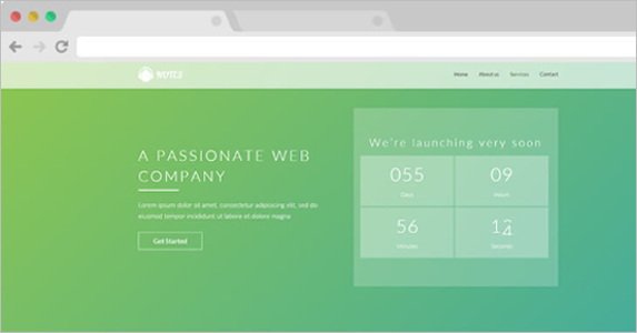 Passionate Free Landing Page Theme