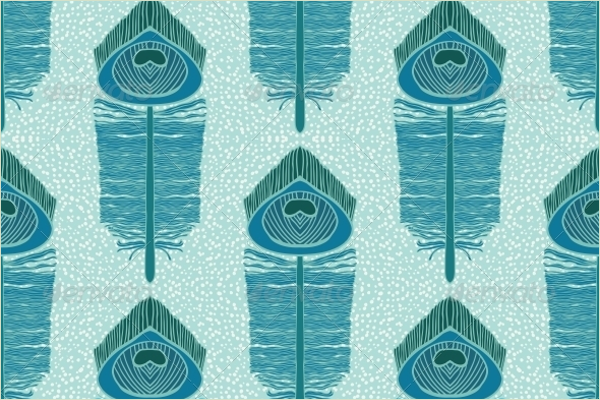 Peacock Background Pattern