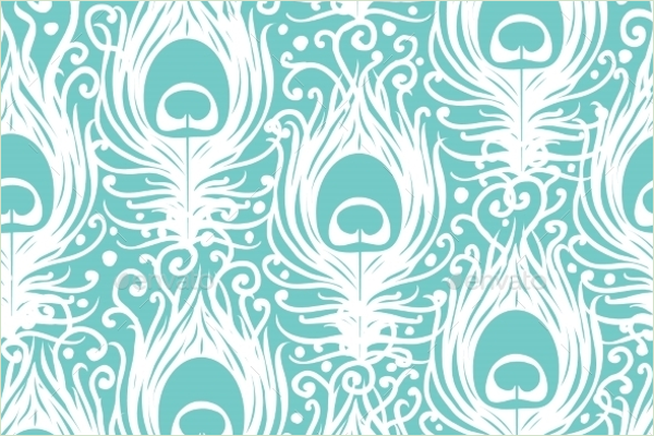 Peacock Feather Design
