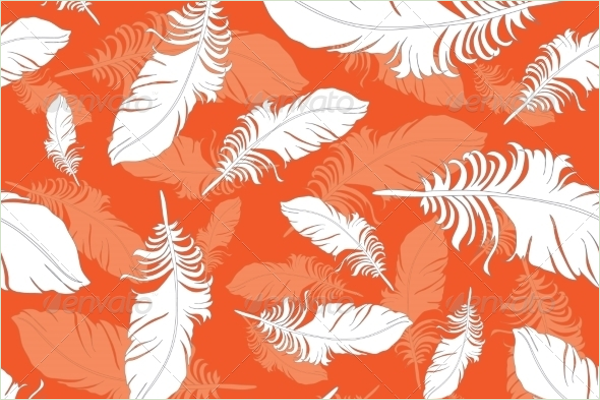 Peacock Seamless Pattern Background