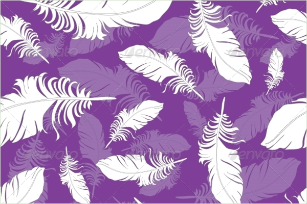 Peacock Seamless Pattern Vector