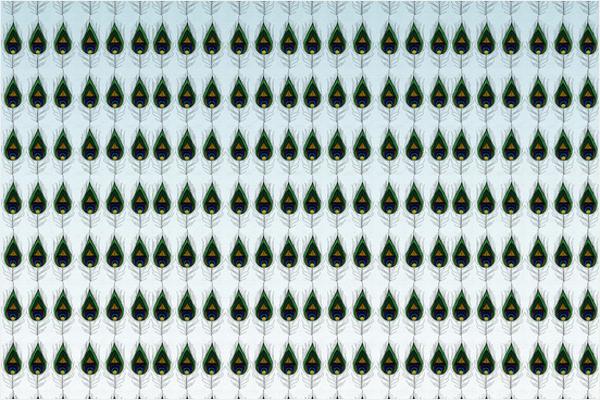 Pecock Print Design Pattern