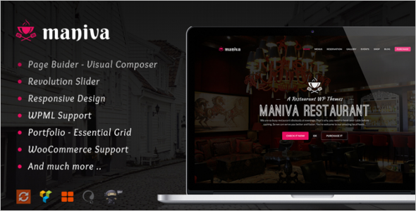 Personal Chef Website Theme