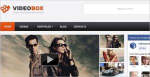 Personal Video WordPress Theme