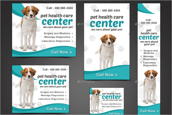 Pet Care Business Banner Template