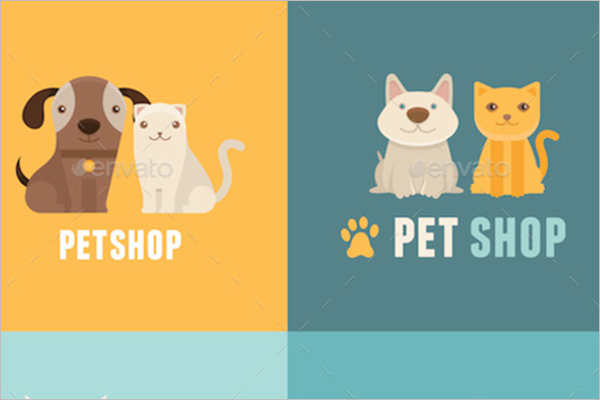 Pet Shop Cartoon Vector Design