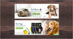 Pet care Banner Design