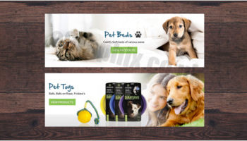 Pet care Banner Templates