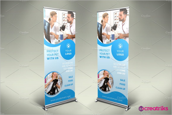 Pet care Clinic Banner Design