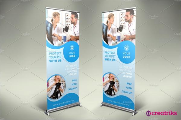 Pet care Clinic Banner Design
