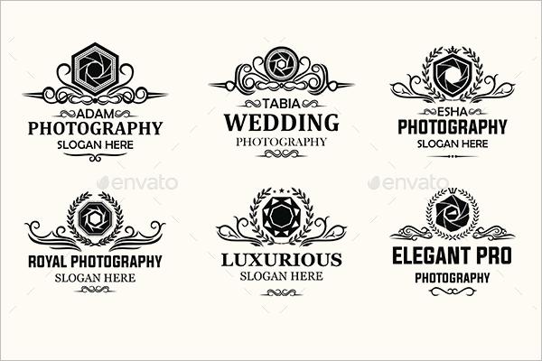 Photography Badge Design Model