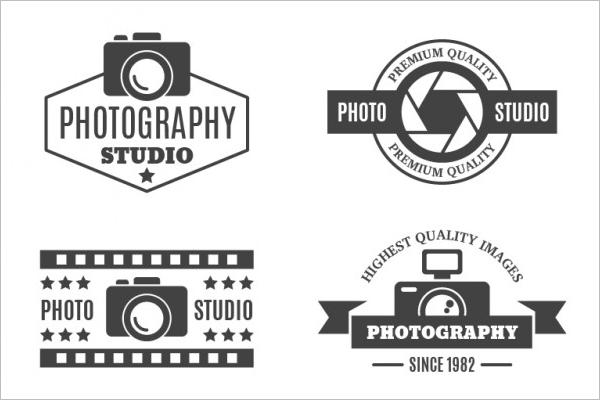 Photography Style Badge Logo