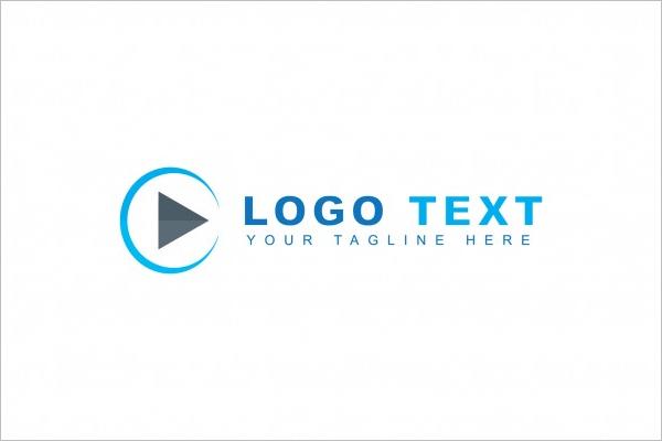 Play Button Logo Design