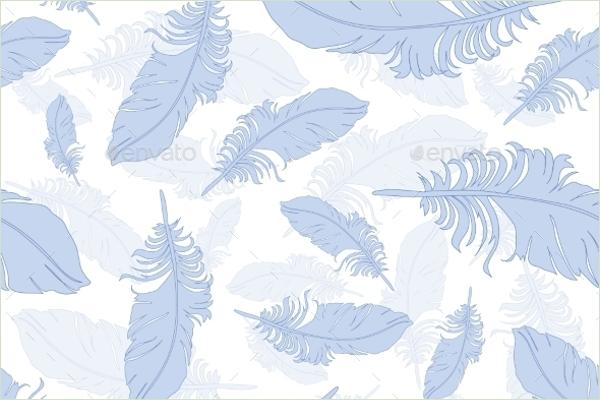 Plumage Background Seamless Pattern