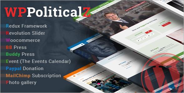 Political BuddyPress WordPress Theme
