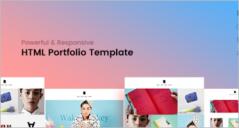 Portfolio HTML Templates