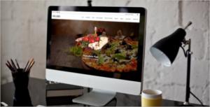 Portfolio Food WordPress Theme