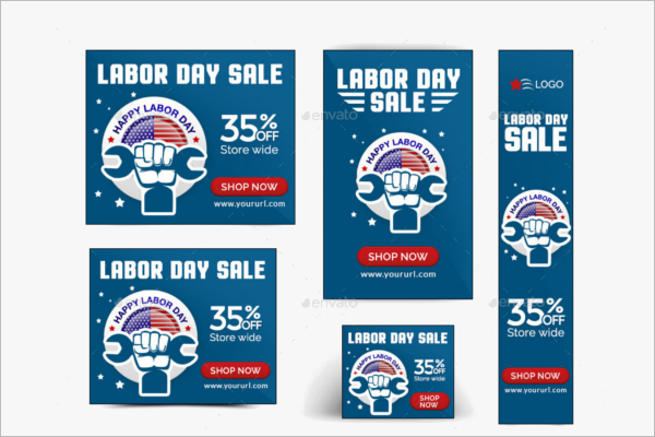 Portfolio Labor Day Sale Design