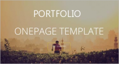 30+ Responsive One Page Portfolio Templates