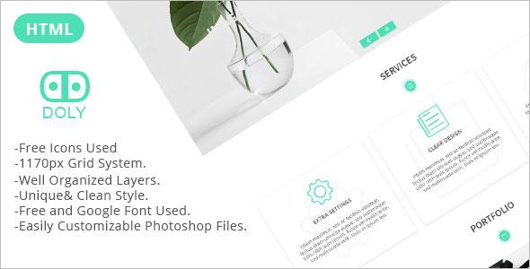 Portfolio Onepage Multipurpose Template