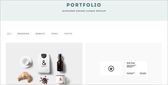 Portfolio SEO HTML Template