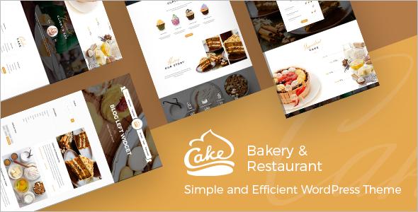 Premium Cake WordPress Theme