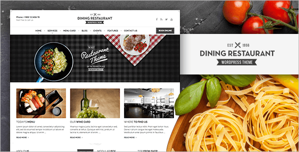 Premium Chef WordPress Theme
