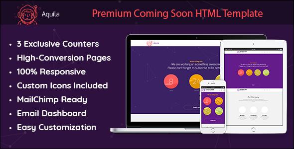 Premium Coming Soon HTML Template
