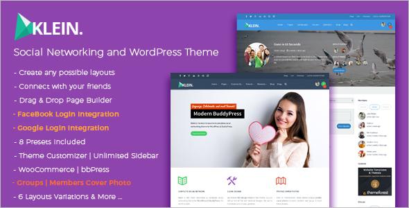 Premium Community BuddyPress Theme