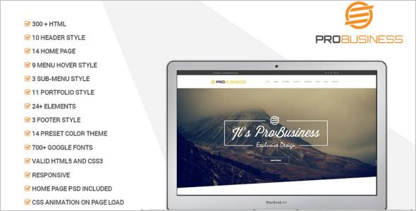 Premium Education Landing Page Template