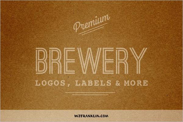 Premium Hotel Label Template