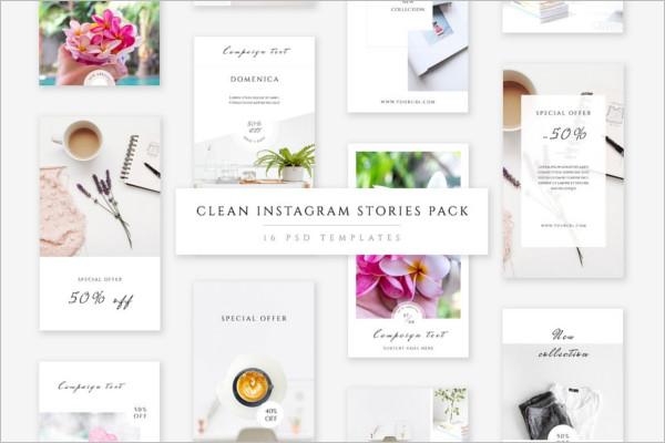 Premium Instagram Stories Template