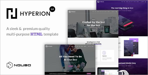 Premium One Page Portfolio Template