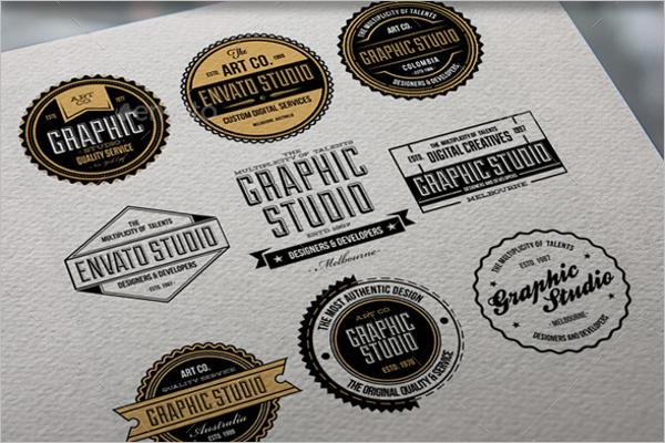 Premium Photography Badge Logo