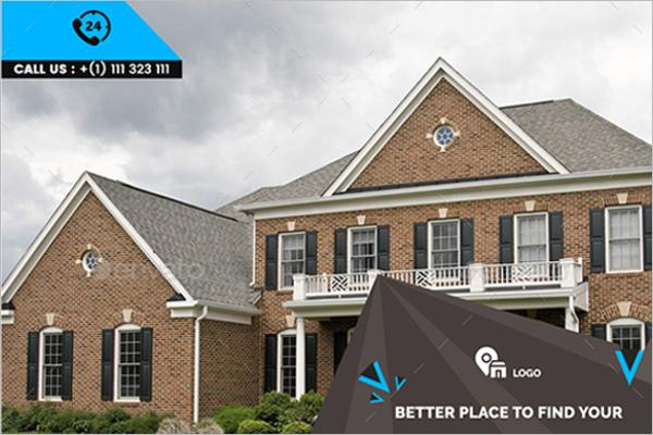 Premium Real Estate Banner Template