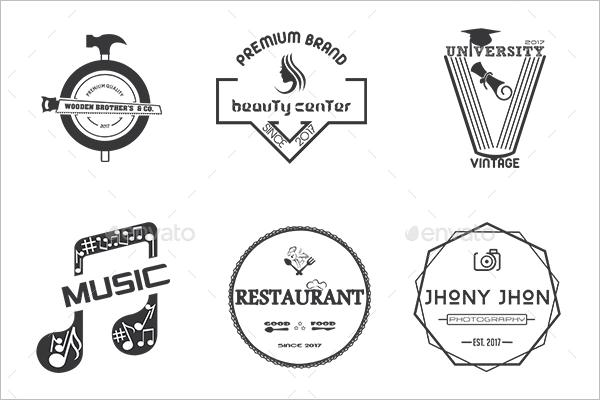 Premium University Vintage Label