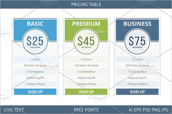 Pricing Page Inspiration Template