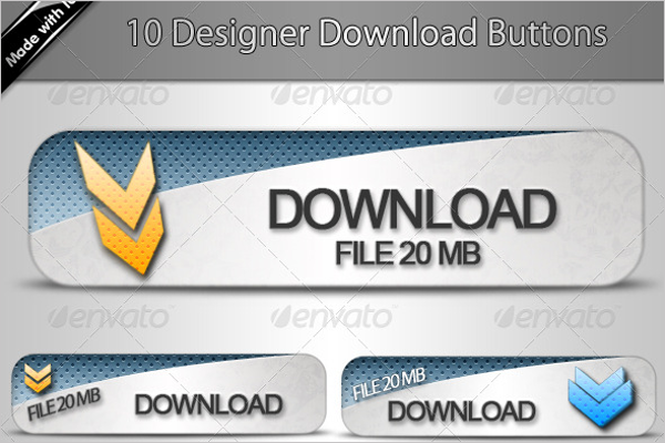 Printable Download Button Template