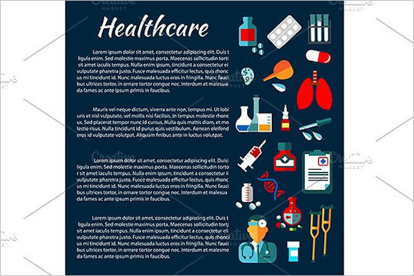Printable Hospital Poster Design
