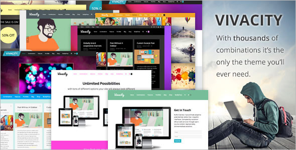 Professional BuddyPress WordPress Theme