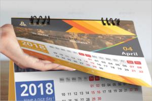Professional Business Calendar Template