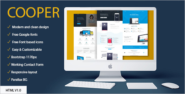 Professional Multipurpose HTML Template